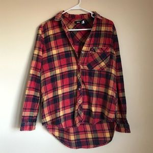 Urban Outfitters Button-front Flannel